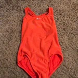 Nike Girls Size 10 competition/practice suit